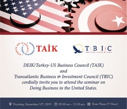 Seminar on Doing Business in the United States